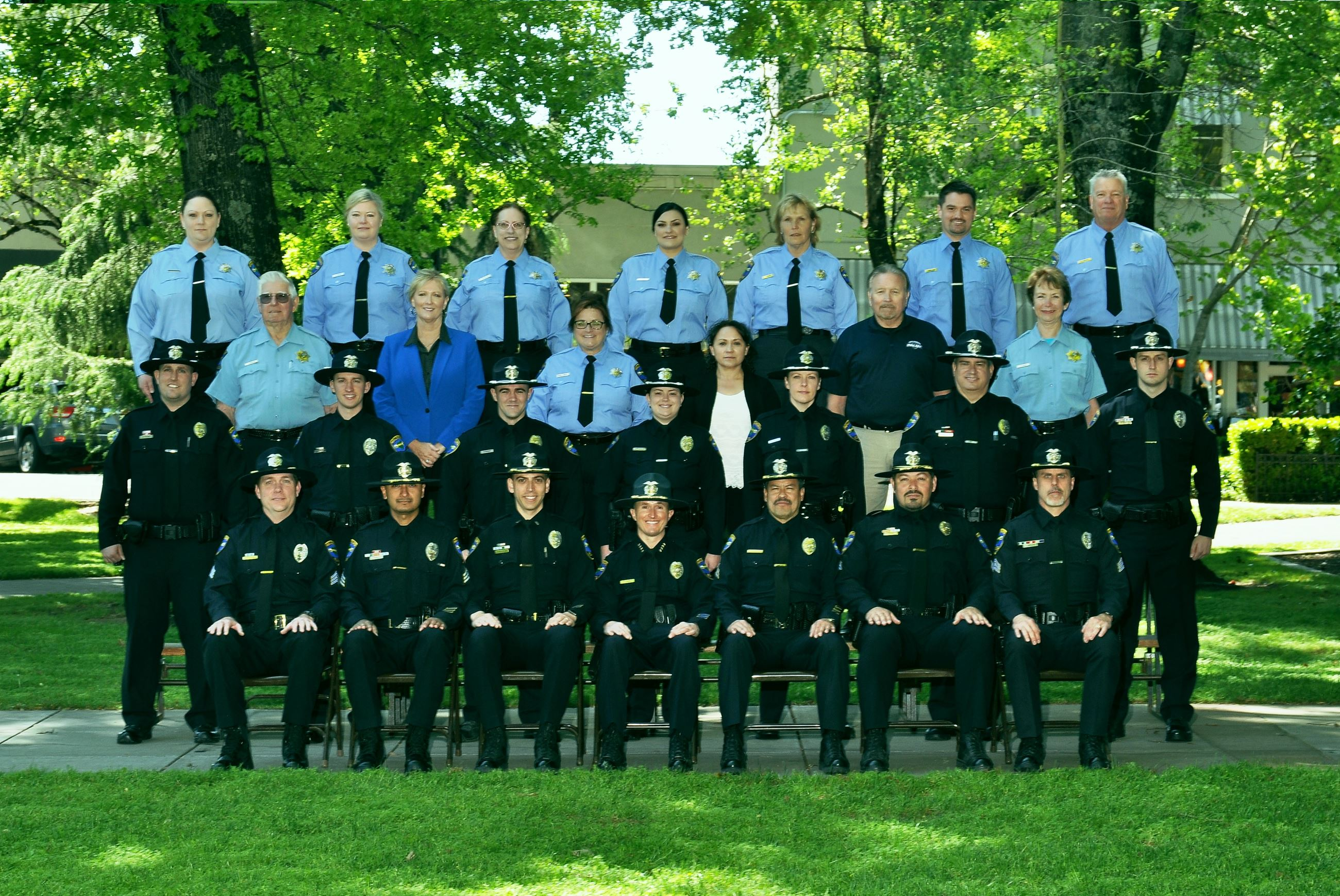 2016 Healdsburg Police Department Members